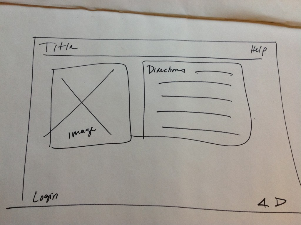A rough sketch of an interface