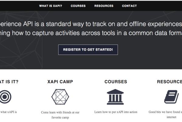 Learn xAPI Home Page