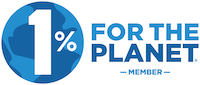 One percent for the planet business member logo